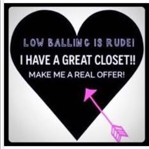 PLEASE.... NO low ball offers! 😟